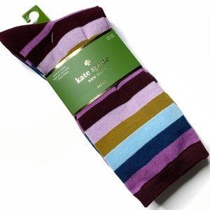 Kate Spade NY 3 pk Striped Polka Dot Crew Socks